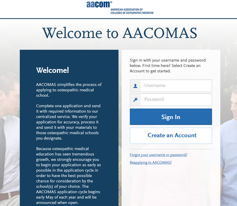 More Colleges Considering Applicants >> About The Aacomas Application Service Choose Do